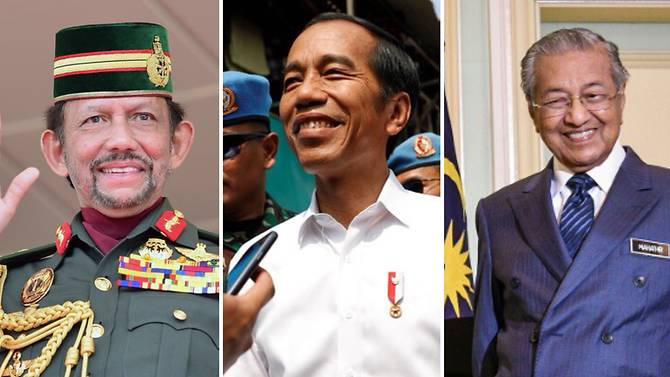 Leaders of Brunei, Indonesia and Malaysia to attend Singapore's National Day Parade 2019