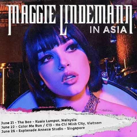 '5 days in living hell': US singer Maggie Lindemann says she was arrested during a performance in Malaysia